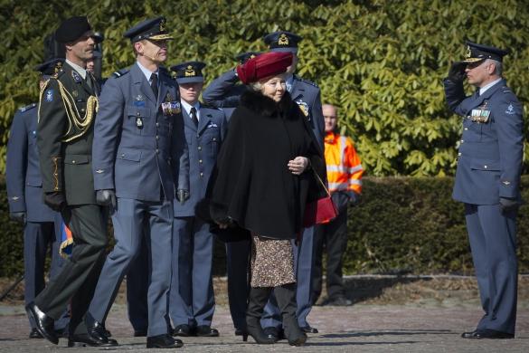 Beatrix et l'armée