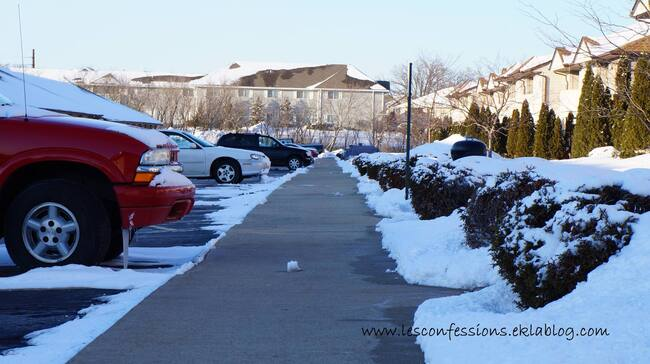 News: l'hivernale saison dans le Nord des Etats Unis.