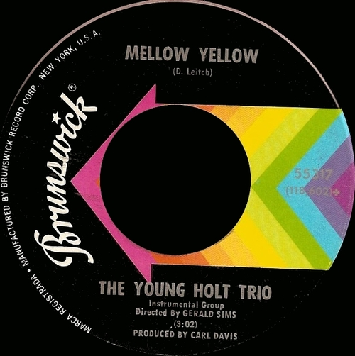 The Young-Holt Trio : Single SP Brunswick Records 55317 [ US ]