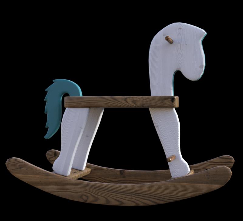 Tube cheval à bascule (render-image)