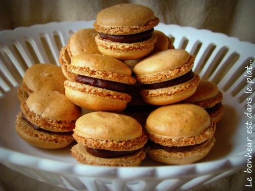 Macarons croquants choco-noisettes