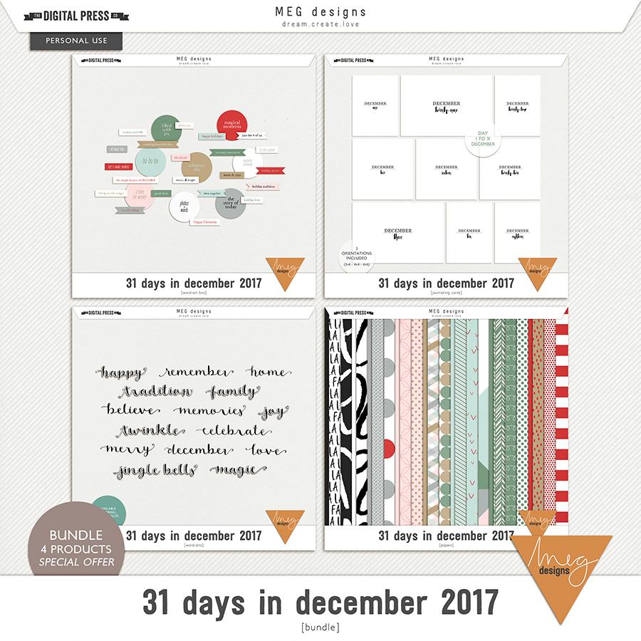 31 days in december 2017 | bundle
