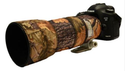 Housse & Protection Lentille Néoprène Chêne Canon Ef 100-400mm F/4.5-5.6 Est