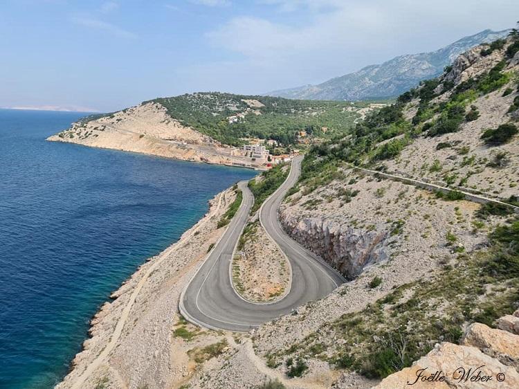 Croatie : Jablanac crique de Zavratnica