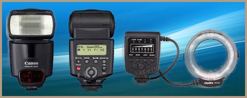 Canon speedlite 430 EX + flash annulaire macro