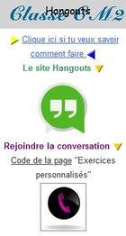 Participer à une discussion Hangouts