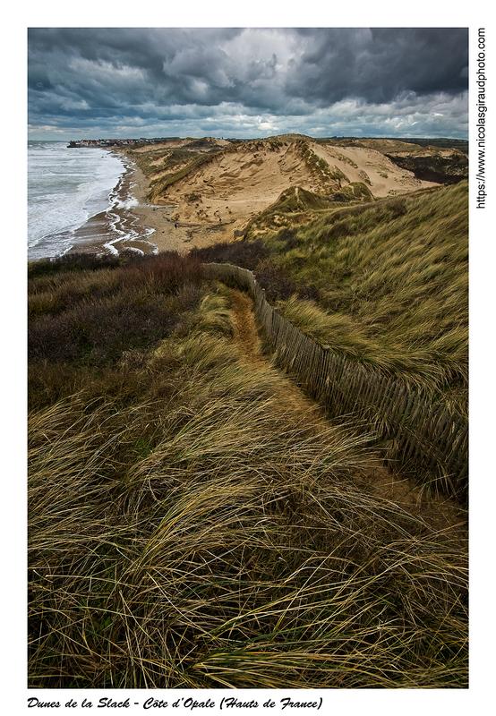 La côte d'Opale dans le Pas de Calais