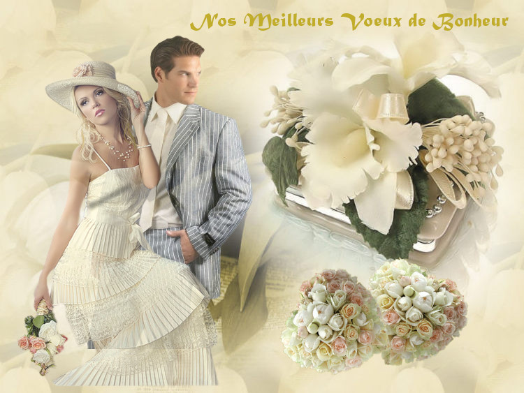 Mariées  du joli mois de Mai