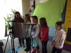 enregistrement de notre chanson