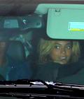 Beyonce,Blue & Jay Z sortant d'un restaurant !