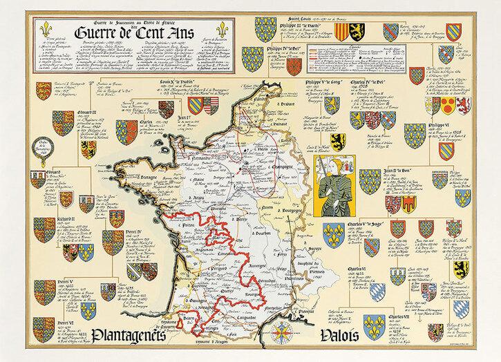 Éphéméride du Jour 4:  Début de la guerre de Cent Ans - 7 octobre 1337