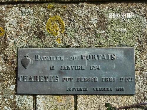 Souvenirs du combat du Mortais....