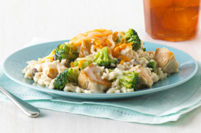 Recette:  Plat de poulet et de brocoli facile