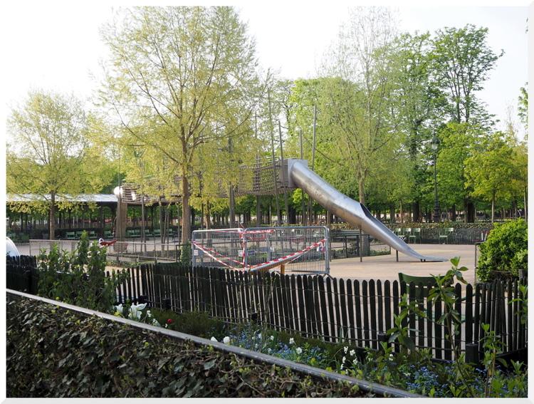 Jardin des Tuileries. Paris