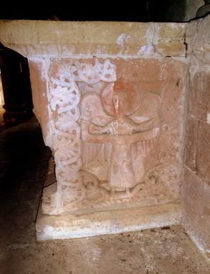 La chapelle st Pierre de Bessuéjouls près d'Espalion