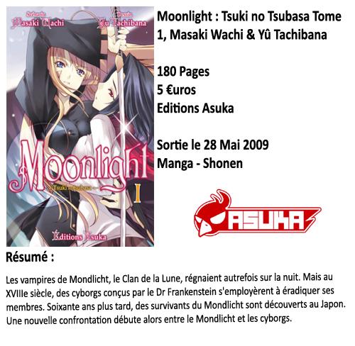 Moonlight Tome 1 : Tsuki no Tsubasa, Masaki Wachi & Yû Tachibana