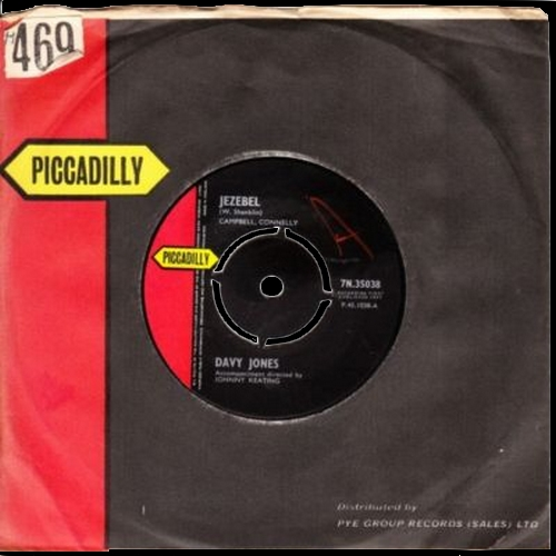 1962 : Single SP Piccadilly Records 7N.35038 [ NL ] / Vogue Records 45PV.15161 [ FR ]
