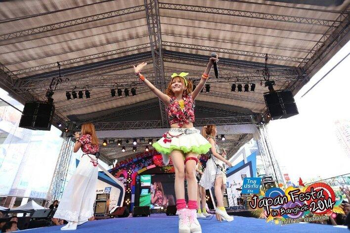 LoVendoЯ japan festa in bangkok 2014 morning muusme