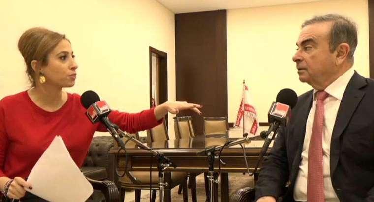 L'entretien de Léa Salamé avec Carlos Ghosn enflamme la toile