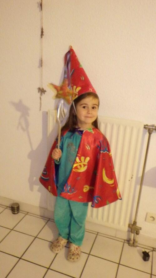 Un déguisement de magicienne