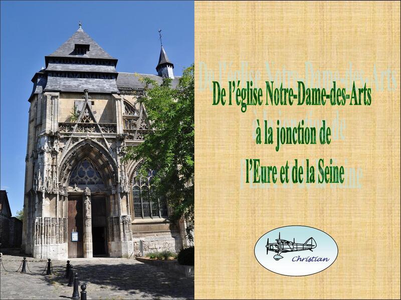 Mariage de l'Eure et de la Seine...