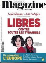 Interview Nouveau Magazine Littéraire - Asli Erdogan -