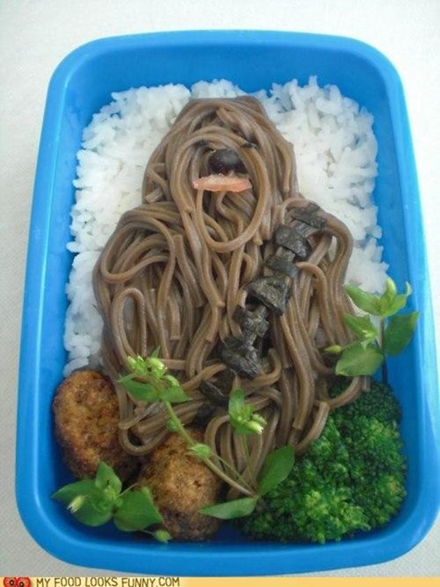 Ce soir, on va manger du Wookie!