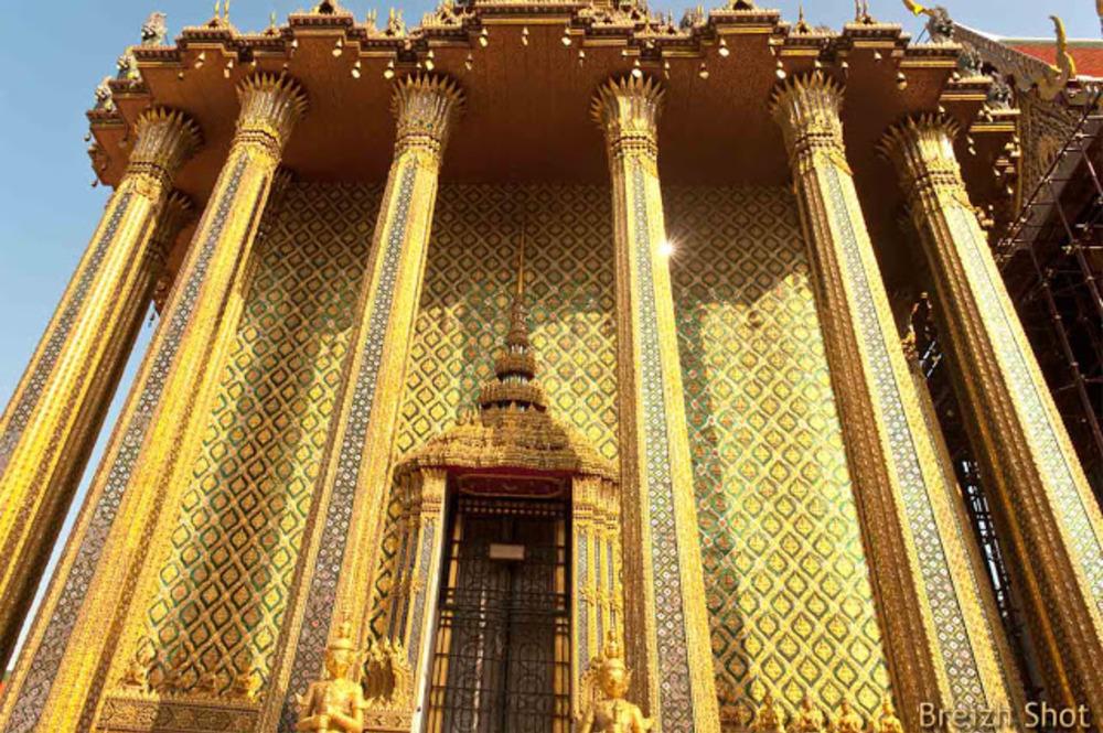 Grand Palais de Bangkok - Les mosaïques détails