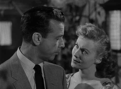 L'implacable, Cry danger, Robert Parrish,  1951