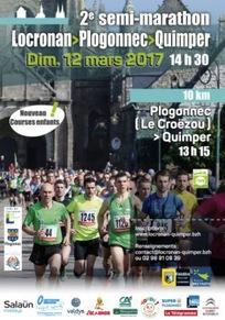 Semi Marathon Locronan Quimper - Dimanche 12 mars 2017