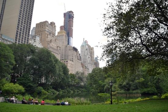 066 - NYC - Central park - the Pond