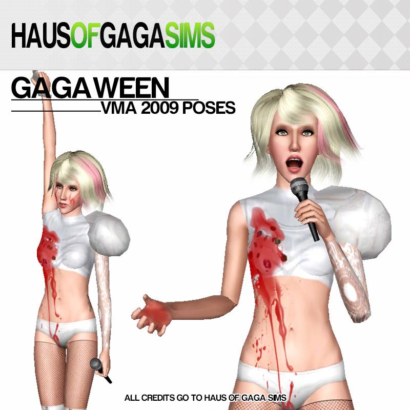 GAGAWEEN (VMA 2009) POSES