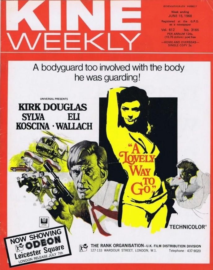 A LOVELY WAY TO GO BOX OFFICE USA 1968