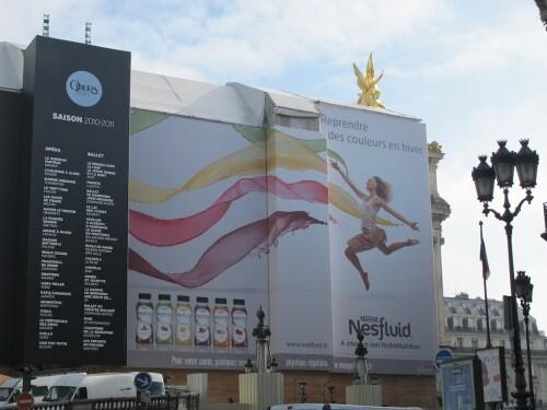 Bâche affiche géante Nestfluid Opéra 6