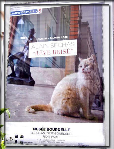 Paris affiche exposition Alain Séchas