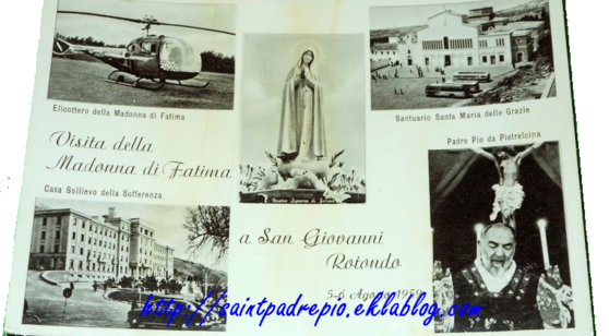 Padre Pio, les apparitions