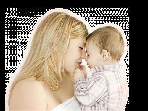 Mère avec enfant