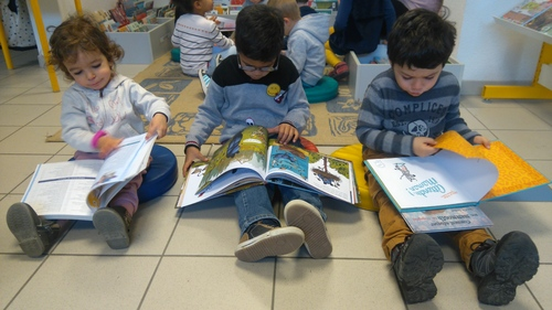 Sortie à la bibliothèque de janvier