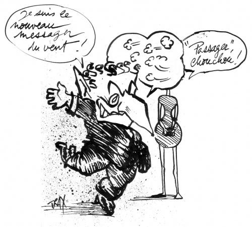 Charleville, Sarkozy, Rimbaud, passager du vent