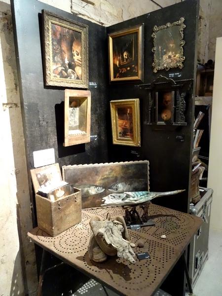"""""""Petits et grands formats"""", une exposition des œuvres de quatre artistes, chez Karin Neumann..."""