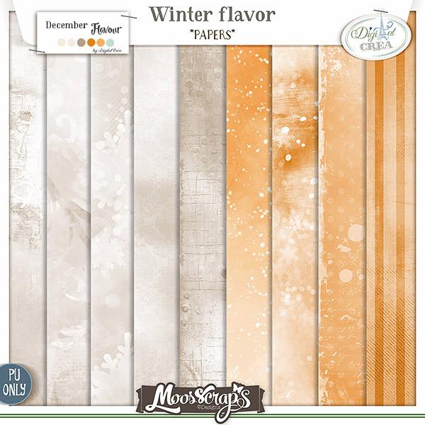 Winter flavor - papiers