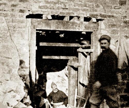 Des galeries-abris sous le jardin Richelieu pendant la Grande Guerre