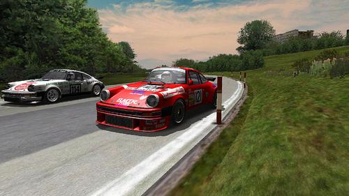 Team Charles Ivey Racing Porsche 930