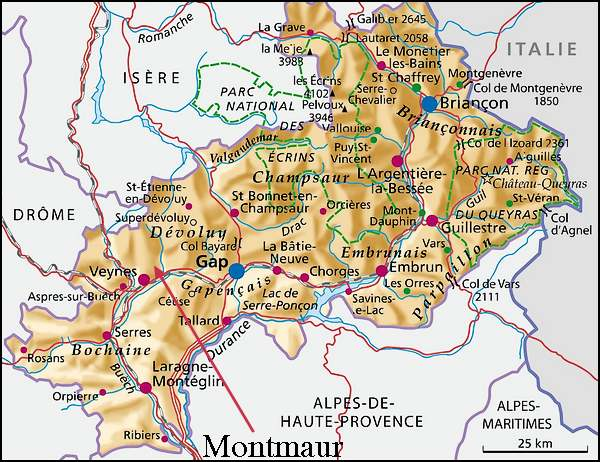 Château de Montmaur (Hautes Alpes)