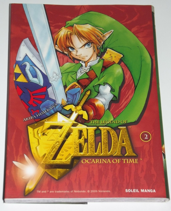 livre Manga Zelda Ocarina of time 02