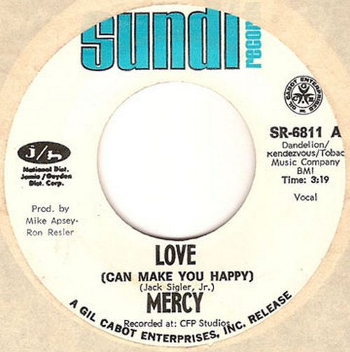 Mercy : Love [ Can Make You Happy ]