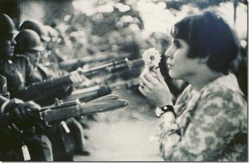 La fleur au fusil: Contre l'allégeance aux armes!