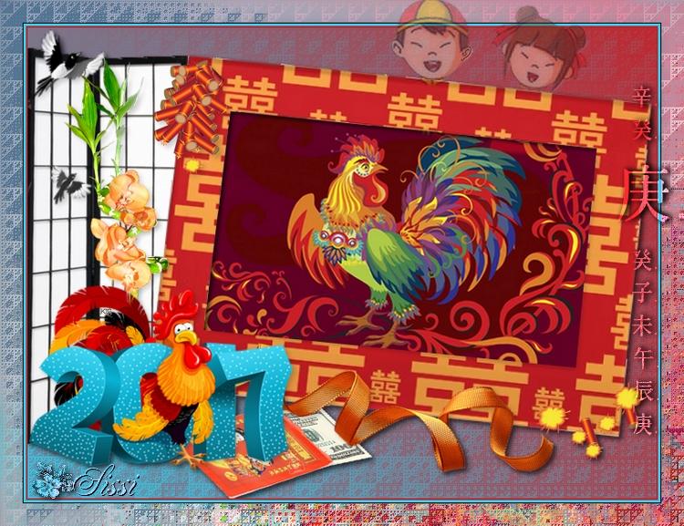 * Nouvel An Chinois * Défi de Babouchka *
