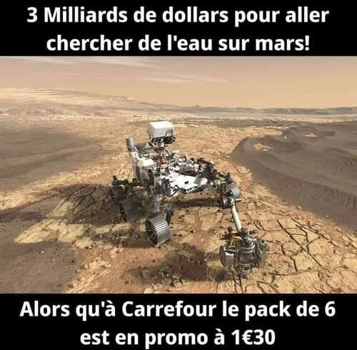 De l'eau sur Mars ?