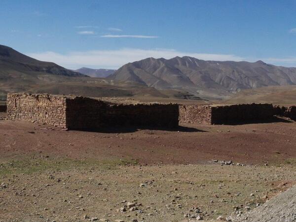 Bâtiments en pierre séche